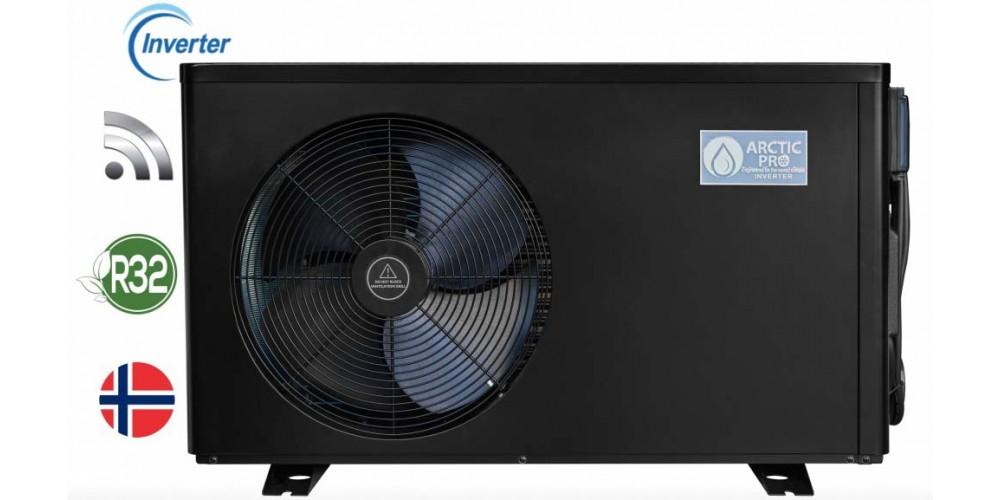 5.5kW ArcticPro Inverter Eco Varmepumpe