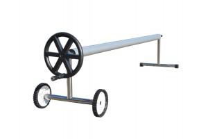 Oppruller med hjul. Justerbar bredde 2,5-6,5m. Inntil 12m lengde